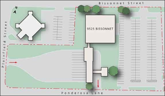 Bissonnet Site Map