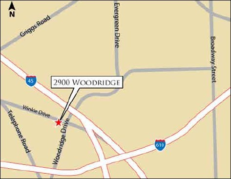 Woodridge Location Map